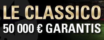 Le Classico: nouveau tournoi de poker de Pokerstars.fr