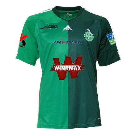 AS Saint Etienne: le logo Winamax va-t-il etre troque par Betclic?