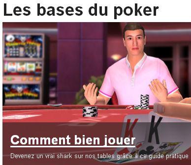 Pkr.fr espere attirer des joueurs de poker debutant