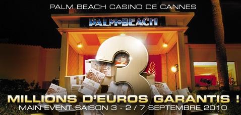 Partouche Poker Tour: Tous les yeux rives sur Cannes