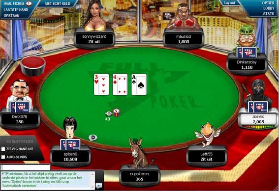 Succes du poker en ligne en France