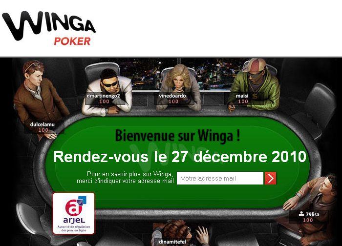 Winga repousse son ouverture au 27 decembre 2010