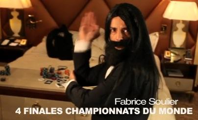 Fabrice Soulier dans le role de Sebastien Chabal