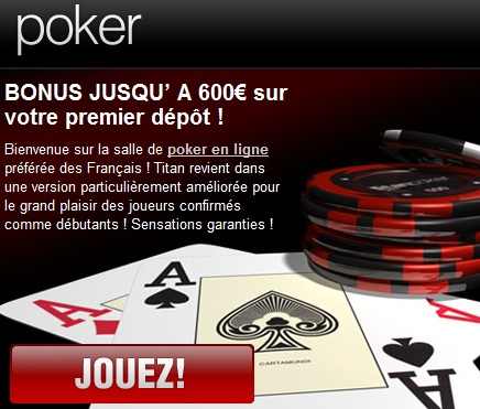 Promotion des bonus poker en ligne interdites