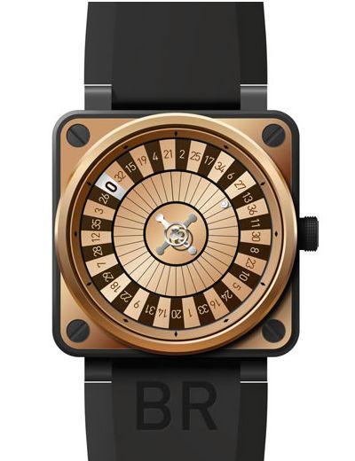 Jouer a la roulette sur une montre Bell & Ross