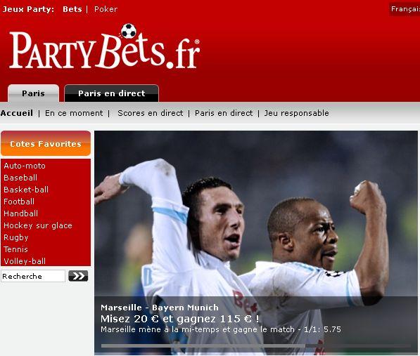 Les derniers jours de Partybets.fr en France