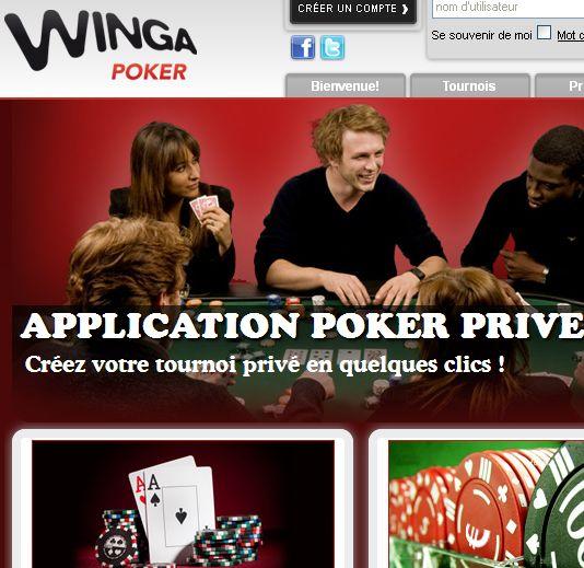 Winga Poker, avant le depart
