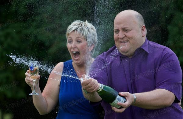 Les Brayford heureux gagnant de l'Euromillions