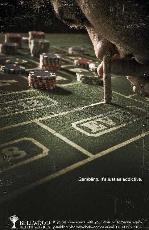 Sniffer une ligne blanche de table de roulette