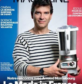 Arnaud Montebourg, profession mannequin