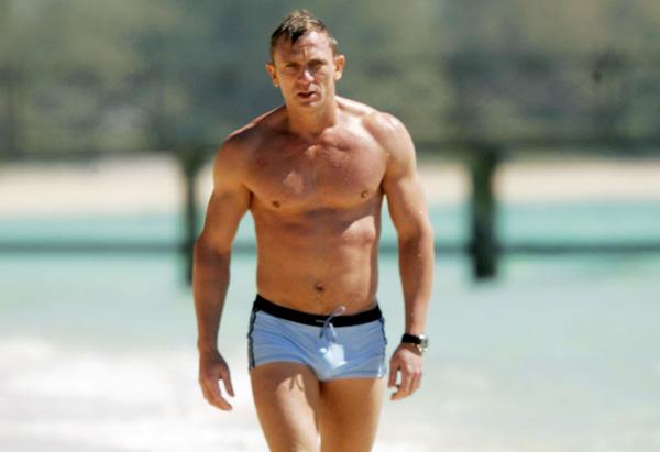 Maillot de bain de Daniel Craig dans Casino Royal