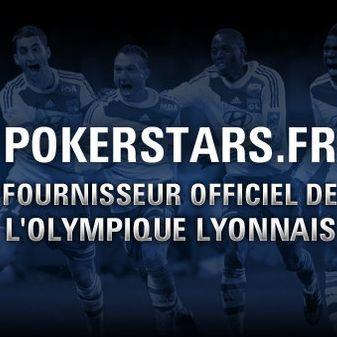 Pokerstars sponsor de l'Olympique Lyonnais
