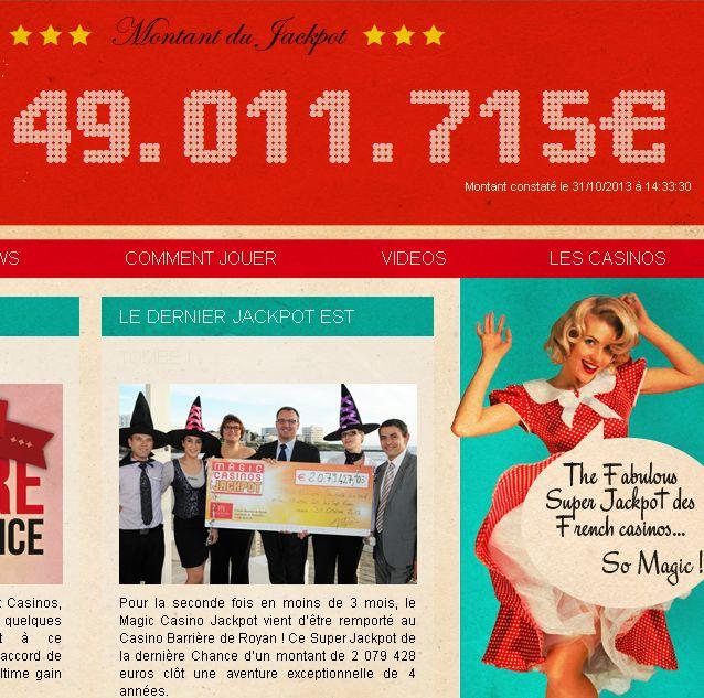 magic casino jackpot france