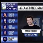 Patrick Bruel en équipe de France de Poker