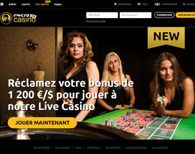 PKR live casino propose des tables avec croupiers en direct