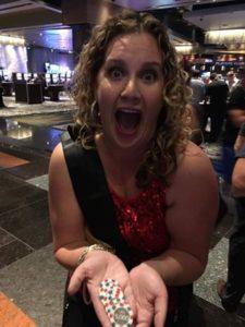 Leslie Sategna et ses 35000$ de gain à la roulette