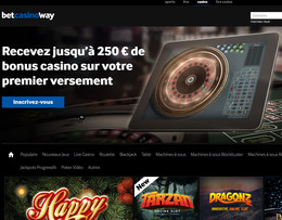 Betway casino legal en Belgique