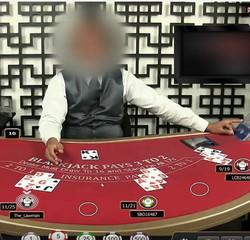 Arnaque blackjack en ligne sur un live casino
