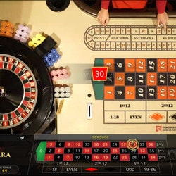 Roulette en ligne en direct de casinos
