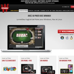 Le site de poker en ligne legal en France Winamax dans la tourmente